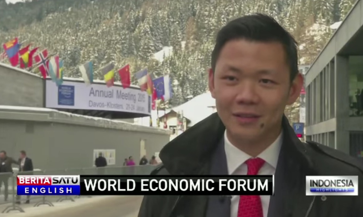 Anderson Tanoto at World Economic Forum Davos 2015