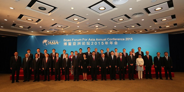 RGE Chairman Sukanto Tanoto at Boao Forum