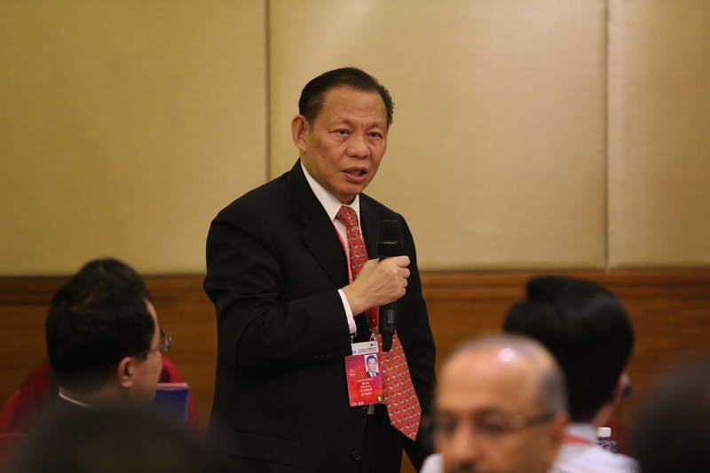 Sukanto Tanoto sharing at Boao Forum