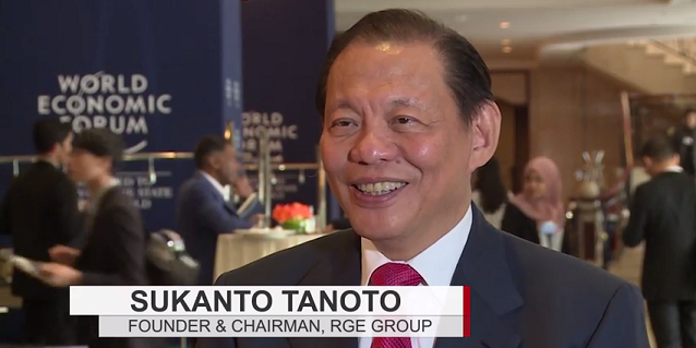 Sukanto Tanoto-led RGE delegation shares thoughts on World Economic Forum on East Asia 2015