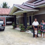 A better standard of living for Sunarto and family.