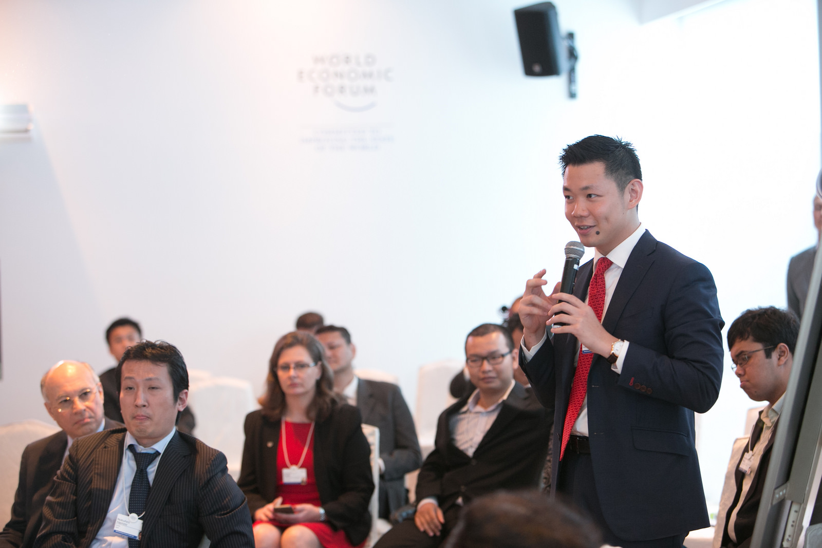 Anderson Tanoto at the World Economic Forum on East Asia 2015, Jakarta, Indonesia.