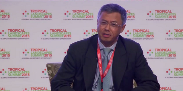RGE Vice-Chairman Bey Soo Khiang at the Tropical Landscapes Summit 2015 on Food Security
