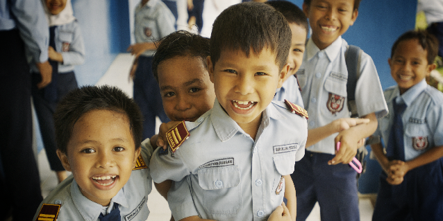 Primary School Children - Tanoto Foundation
