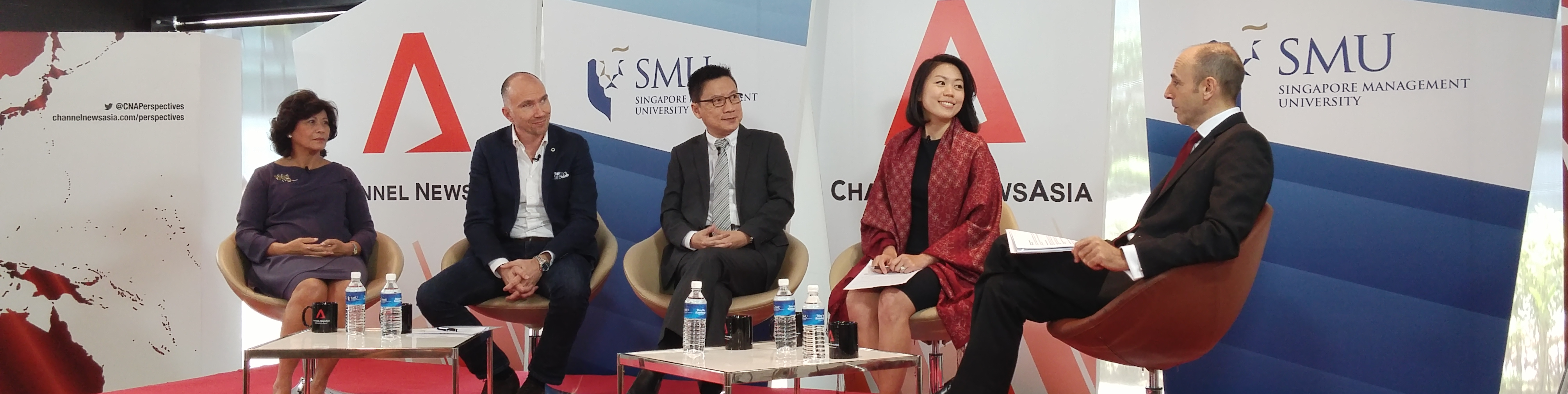 Belinda Tanoto - Channel NewsAsia Perspectives panel on Inequality in Asia