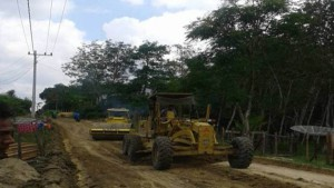 Grader and Compactor provided by RAPP