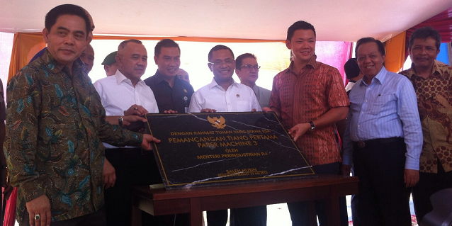 APRIL Group's Groundbreaking Paper Mill Facility