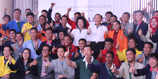 Record numbers attend annual Tanoto Scholars Gathering
