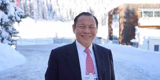 Sukanto Tanoto announces Fourth C | WEF Davos highlights & behind-the-scenes