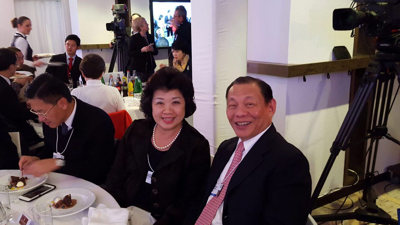 Mr and Mrs Sukanto Tanoto Luncheon
