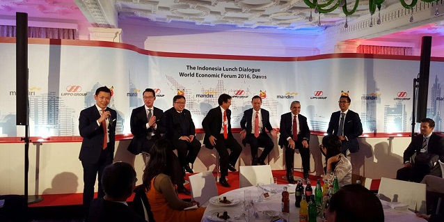 World Economic Forum Davos 2016 Indonesia Lunch Dialogue
