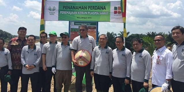 Asian Agri kicks off replanting programme with smallholders and stakeholders