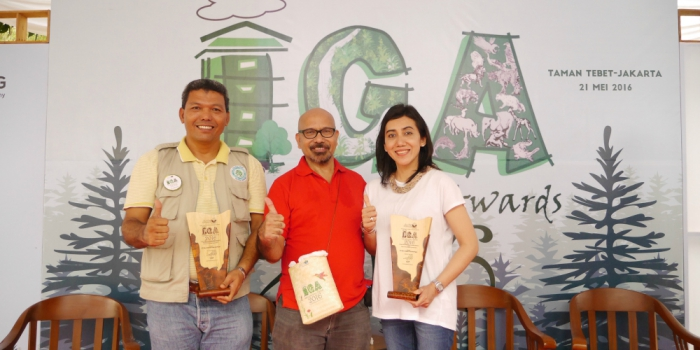 APRIL Group lauded at Indonesia Green Awards