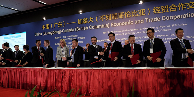 Inside RGE - WoodFibre LNG Export Guangzhou Gas Group Heads of Agreement