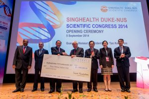 Sukanto Tanoto, Founder of Tanoto Foundation, made a donation of SGD 3 million to advance Asia cardiovascular research.