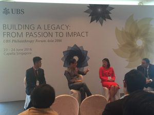 Ms Belinda Tanoto joins panel on innovation and impact on education