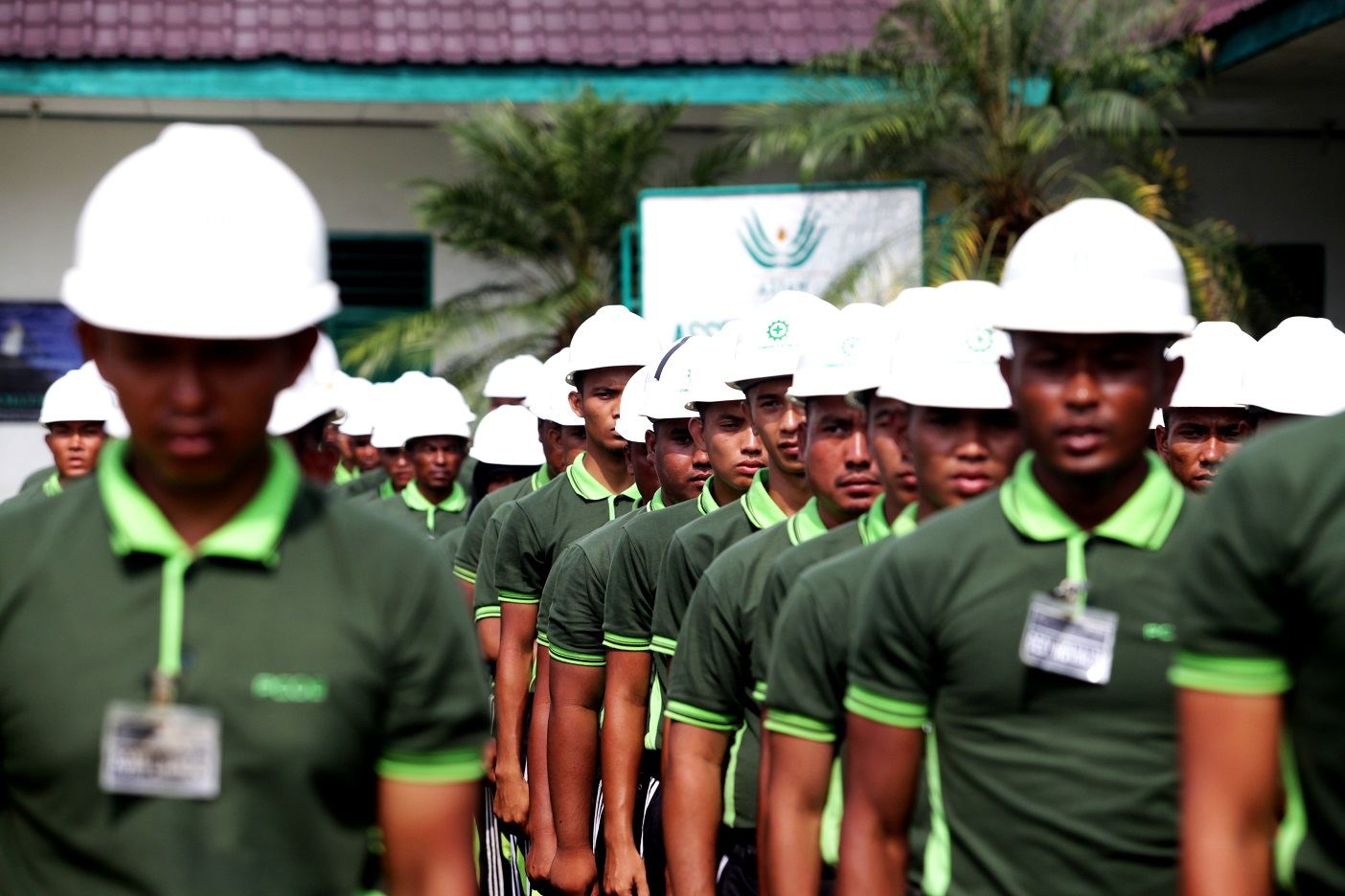 Each year, the Asian Agri Learning Institute takes in some 100 trainees