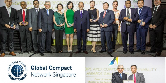 APRIL Recognised as Valued Donor to Global Compact Network Singapore
