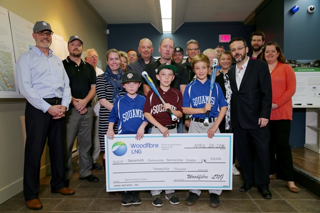 Woodfibre LNG's Community Sponsorship Programme supports local charities and community groups that promote youth education, sports or local environmental initiatives