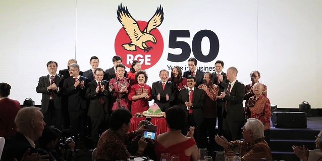 RGE Founder & Chairman Sukanto Tanoto Marks 50 Years in Business by Launching Core Values