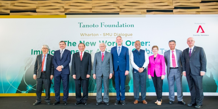 Tanoto Foundation Supports the Wharton-SMU Dialogue