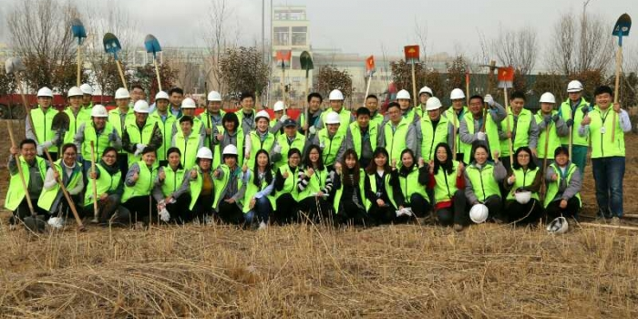 Asia Symbol Organises Tree-Planting Activity in Shandong Mill