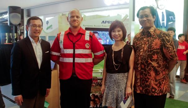 APRIL Participates in Singapore's Inaugural Haze Exhibition