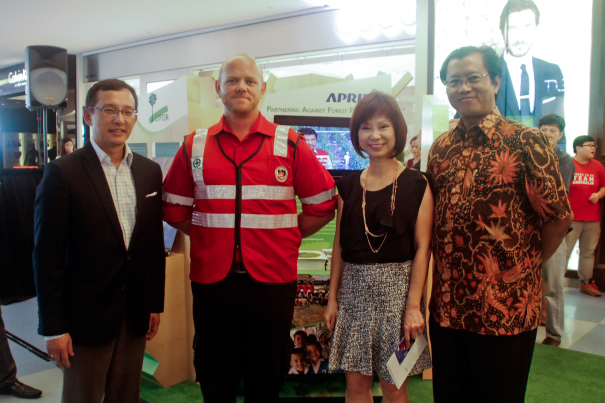 APRIL joins Singapore Haze Exhibition