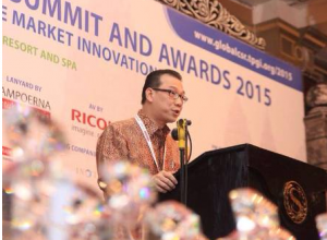 Asian Agri Managing Director Mr Kelvin Tio at the Summit