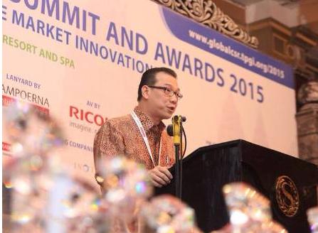 Asian Agri Managing Director Mr Kelvin Tio at the Summit