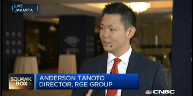 Anderson Tanoto on CNBC: Infrastructure and Indonesian Political Environment