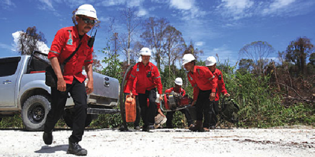 APRIL Group's total approach to forest fire management