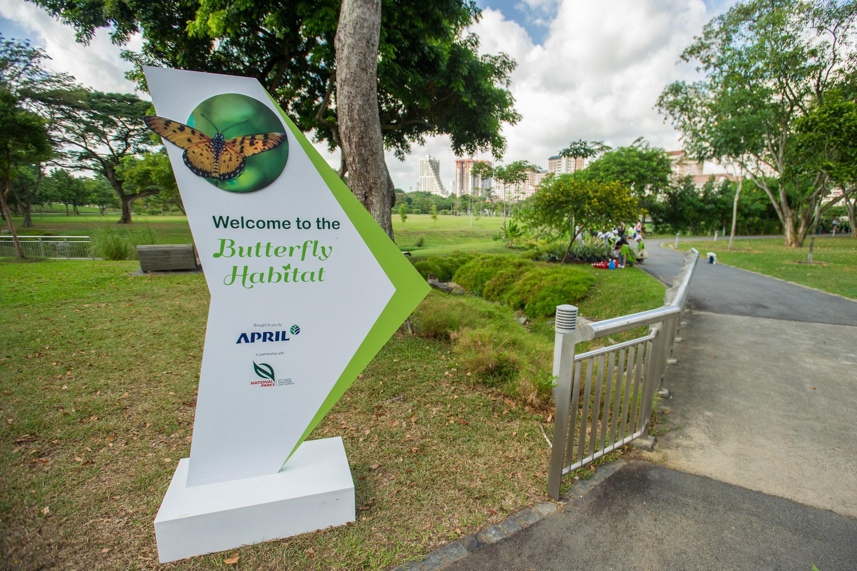 Bishan Ang Mo Kio Park - Butterfly Habitat