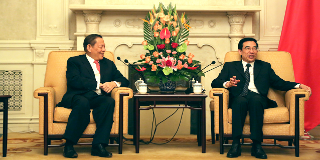 Inside RGE - Sukanto Tanoto meets the Mayor of Beijing Mr Wang An Shun