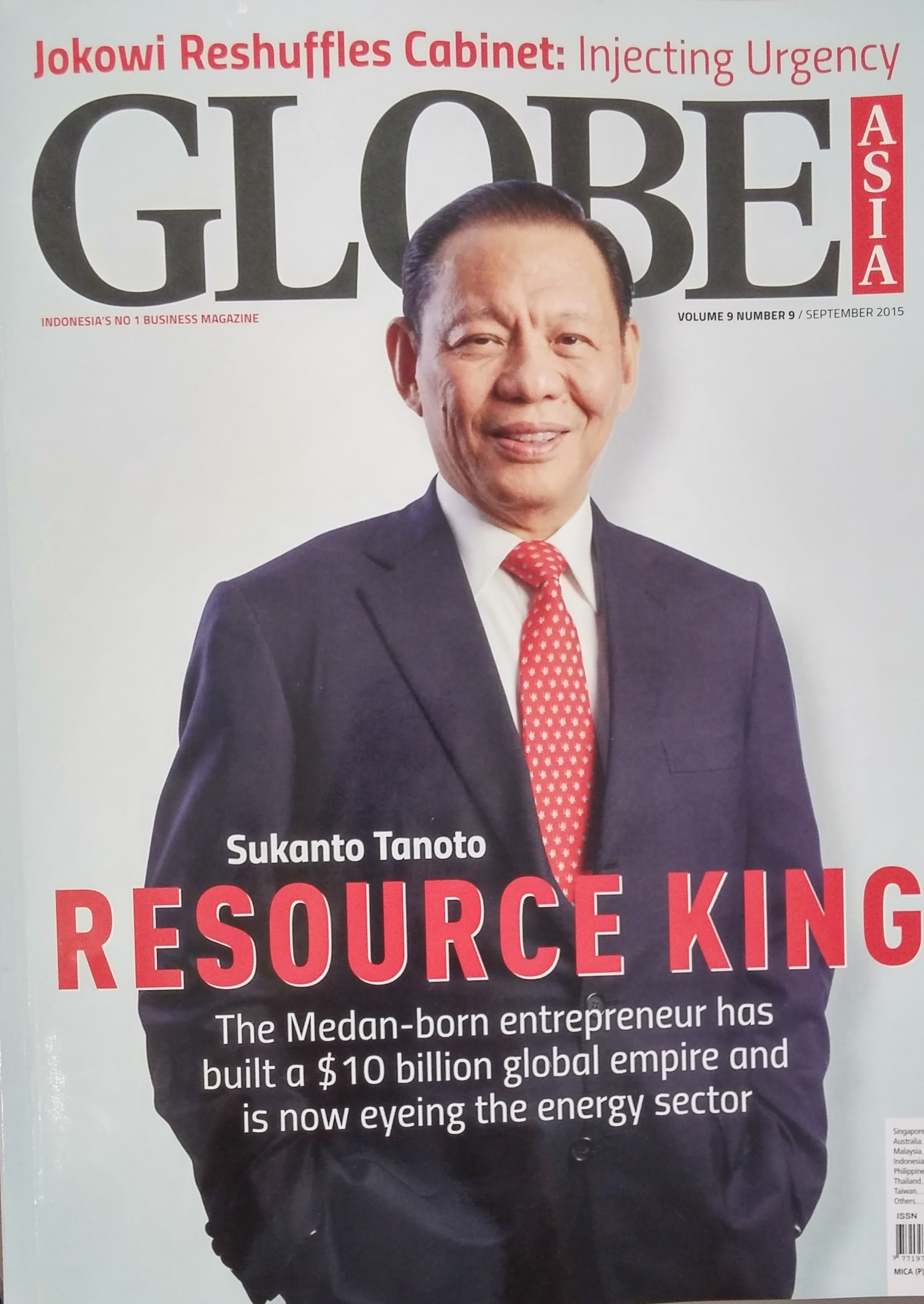 Sukanto Tanoto - The Resource King is a man who has walked the ground and led on the ground
