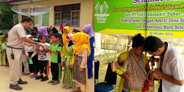 Asian Agri provides haze relief and aid to affected communities