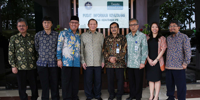 Tanoto Forestry Information Center TFIC opens in Bogor