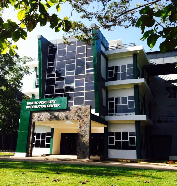 The newly inaugurated TFIC building aims to be a knowledge hub for forestry management and science.