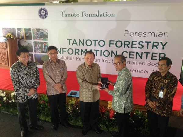 Tanoto Foundation founder Sukanto Tanoto reaches another milestone in his contribution to the excellence of the industry through the TFIC.