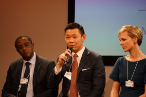 RGE Director Anderson Tanoto shares RGE companies' practices that resonate with the circular economy system, in a panel discussion at the World Economic Forum in Davos 2016.