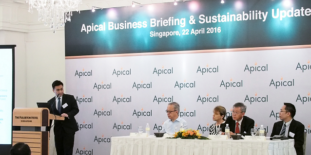 Apical's Sustainability Dialogue with Banks 2016