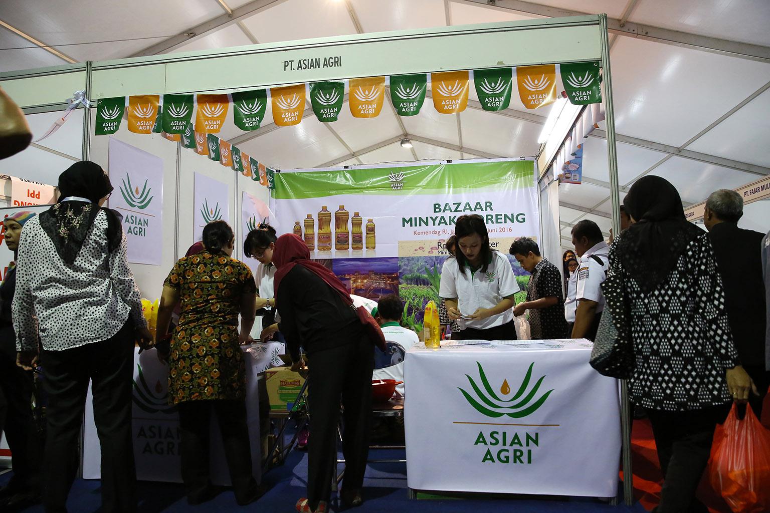 Asian Agri Bazaar Minyak Goreng Migor Trade Ministry Pasar Murah 2016