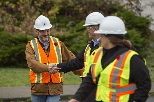 Based on estimates, the Woodfibre LNG Project would create approximately 650 jobs at the peak of construction, approximately 100 full time jobs in shifts for more than 25 years, as well as office administration positions in Squamish and Vancouver