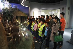 "The employees paired up with their ""adoptees"" and took them to visit places of attraction in the city such as the Rizhao River, library, and museums."