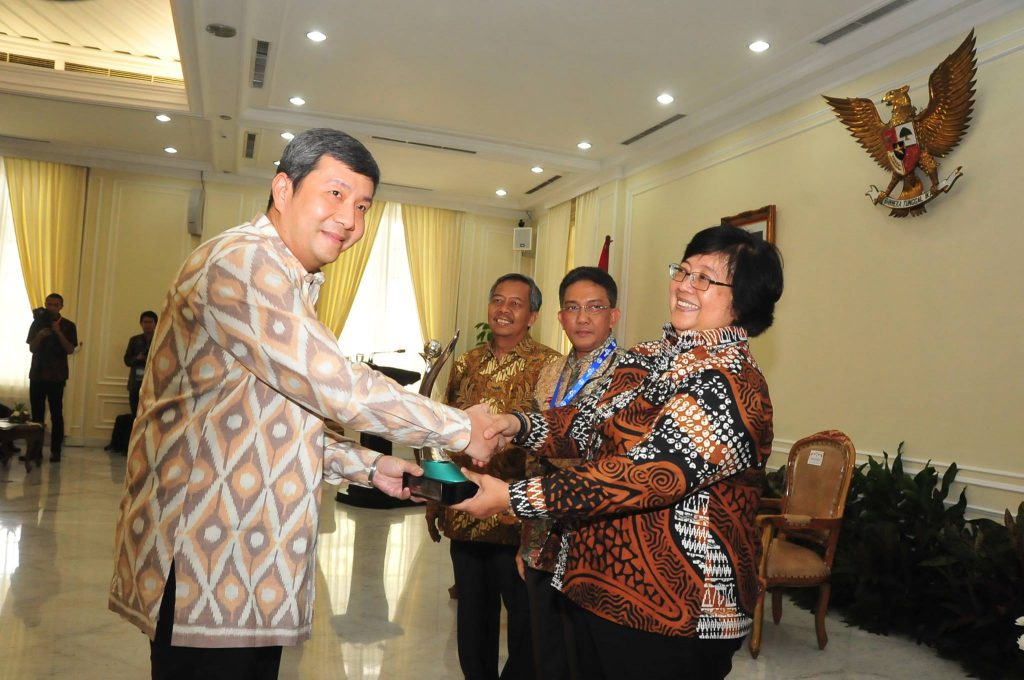 Asian Agri Recognized by Minister of Environment and Forestry for Company Performance Improvement (Green Category)
