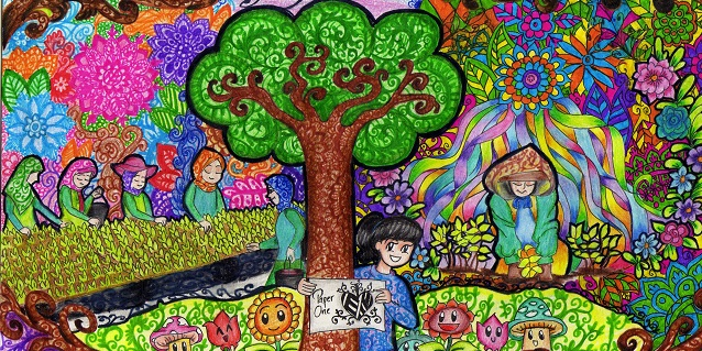 APRIL's Doodle Competition Adds Creative Expressions in Caring for the Climate