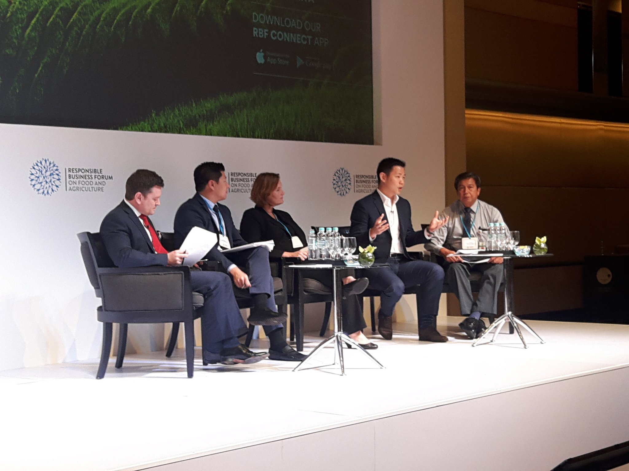 """RGE Director Anderson Tanoto: """"The most effective way to mitigate impact of forest fires is community engagement"""""""