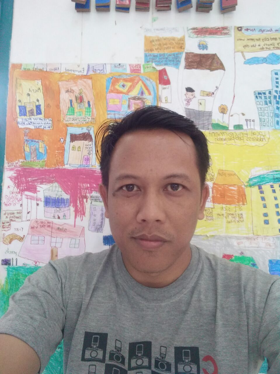 Henry Putra is a wood dispatcher based in the town of Kerinci, Riau
