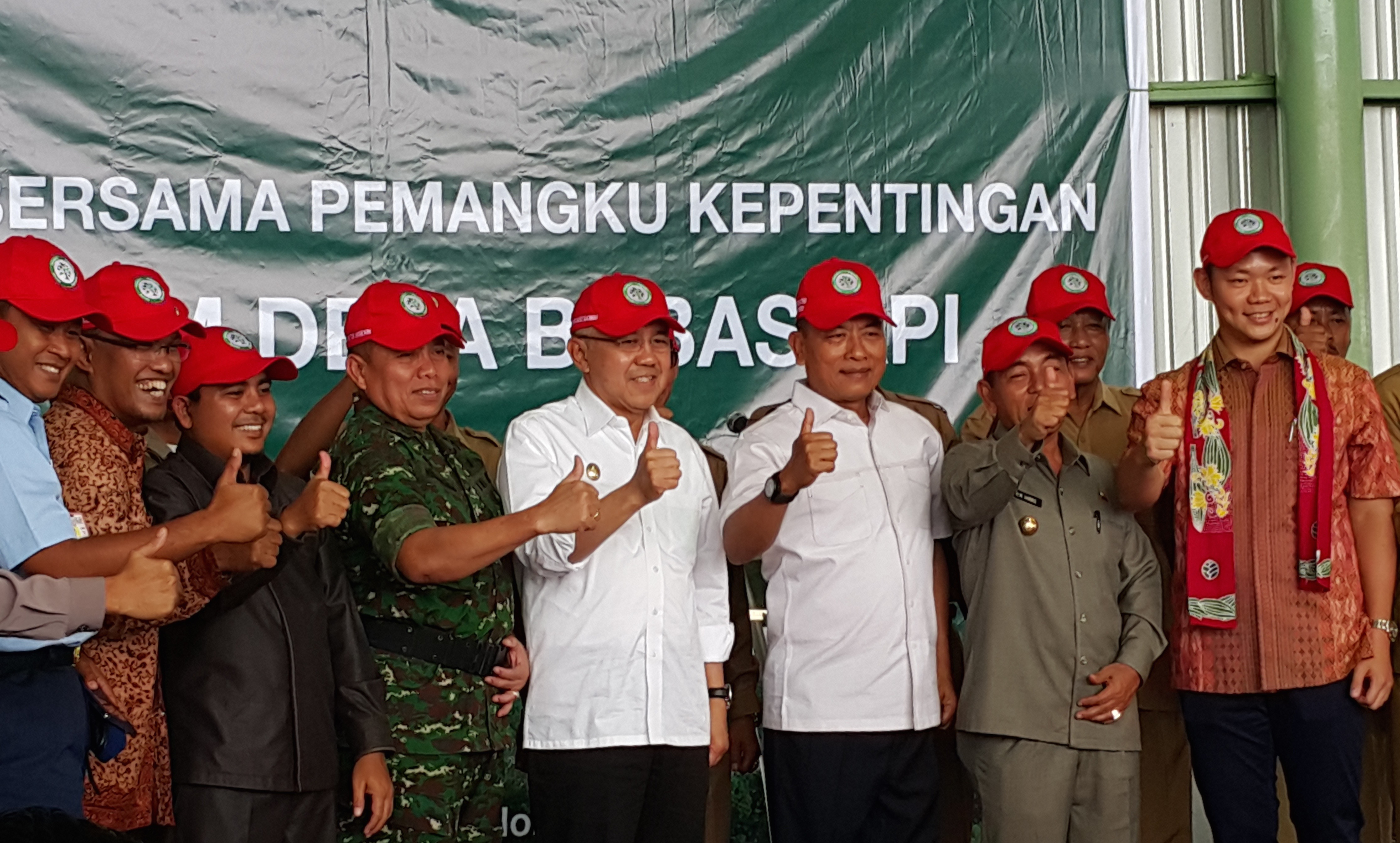FFVP was Riau's first collaborative fire prevention initiative