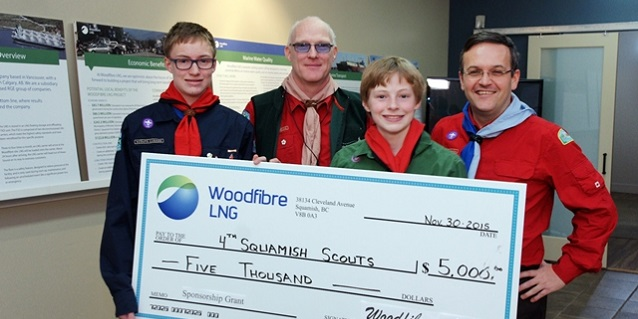 Woodfibre LNG Strengthens Community Building in Squamish